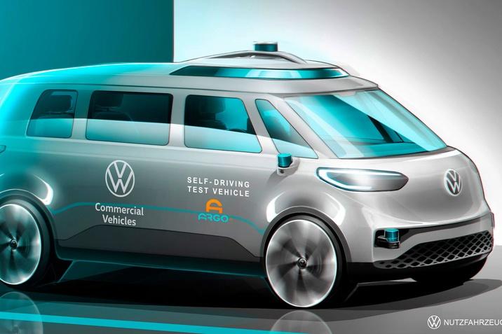 A Volkswagen Haszonjárművek előrelép a mobilitás mint szolgáltatás terén az önvezető technológiák kutatás-fejlesztésben