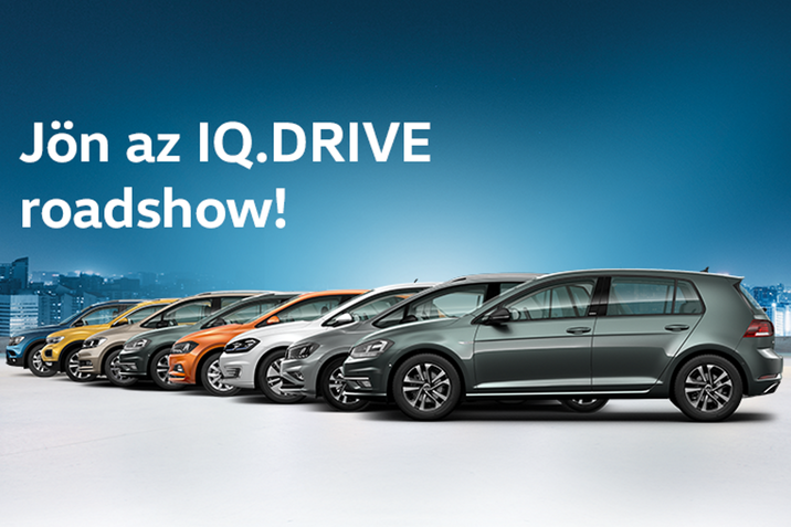 Április utolsó hétvégéjén indul a Volkswagen IQ.DRIVE roadshow